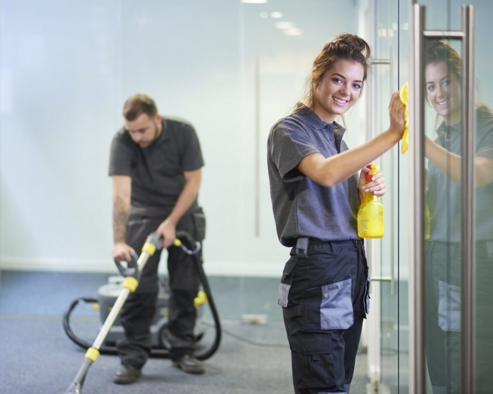Denton-Texas-janitor-commercial-cleaning